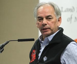 Ghislain Picard, chef de l'Assemblée des premières nations Québec-Labrador.