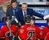 Bob Hartley, qui a déjà été entraîneur des Flames de Calgary, serait dans la mire du Dinamo de Riga.