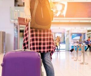 bloc voyage avion aeroport