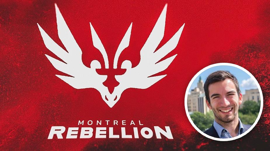 Yannick Babin, fondateur de Mirage, organisation e-sport qui gère également les opérations de la Rebellion