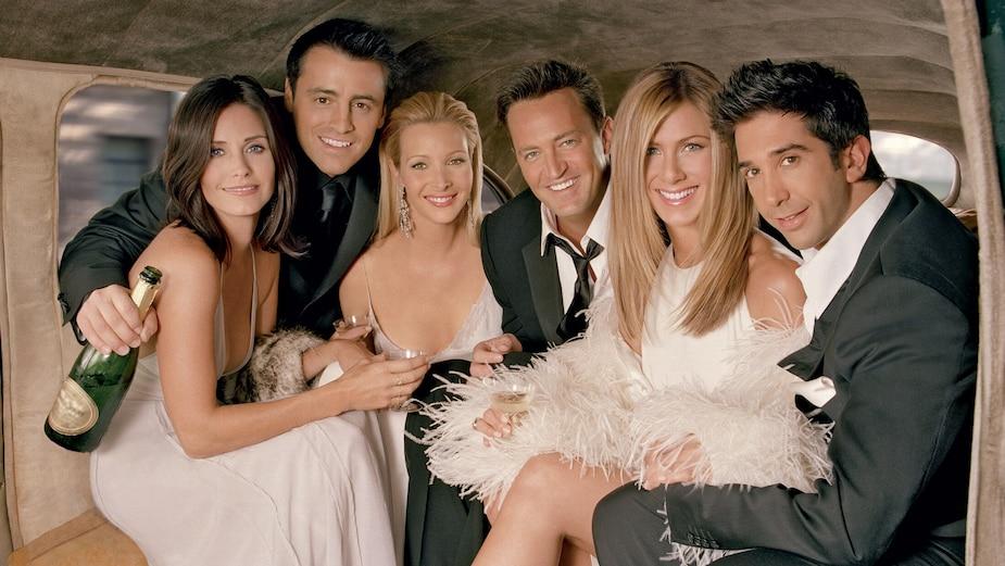 Courteney Cox, Matt LeBlanc, Lisa Kudrow, Matthew Perry, Jennifer Aniston et David Schwimmer.