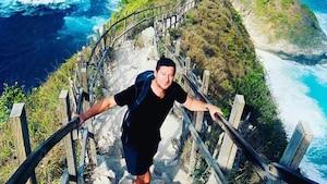 Dany Turcotte partage des photos de son voyage