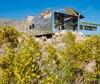 Mirage, de Doug Aitken, est l'une des pièces maîtresses de Desert X, spectaculaire exposition qui rassemble 16 œuvres monumentales d'artistes internationaux à travers la vallée de Coachella, au sud de la Californie.