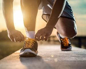 bloc jogging marche course