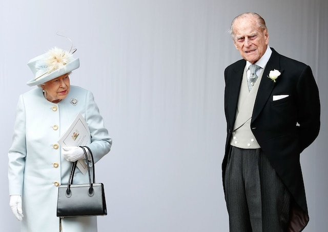 La reine Elizabeth II et le prince Philip.