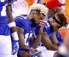 Le receveur étoile Odell Beckham Jr. a effectué un retour au jeu peu éclatant dimanche dernier et les Giants misent sur sa productivité pour relancer l'attaque.