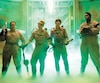 Kate McKinnon, Kristen Wiig, Leslie Jones (II), Melissa McCarthy dans la version de SOS Fantômes sortie en 2016.