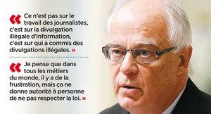 Le ministre de la Sécurité publique, Robert Dutil.