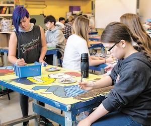 Une nouvelle direction proactive à l'école du Havre-Jeunesse a permis d'éliminer la problématique de violence et de consommation qui minait l'ambiance, ce qui offre un nouvel environnement favorisant la réussite des jeunes.