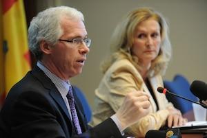 Le directeur de la santé publique de Québec, le Dr François Desbiens.