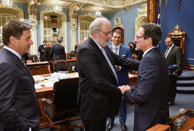 Le député péquiste Stéphane Bédard quitte ses fonctions.