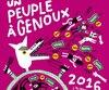<b><i>Un peuple à genoux2016 – L'almanach des indignés</i></br />Collectif<br />Éditions Poètes de brousse</b>