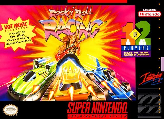 Un jeu de course dans l'espace où tu tentes de te frayer un chemin sur fond de reprises cheapettes de classiques rock à la «Bad To The Bone». Malgré la pire idée au monde, le jeu a atteint le coeur des jours avec sa jouabilité admirable.