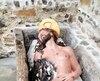 Une statue de Jésus a été vandalisée dans son tombeau de la montagne du calvaire.