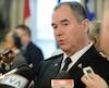 Le chef de police de la Ville de Québec, Robert Pigeon