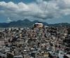 Les favelas d'Alemao dans le nord de la ville de Rio de Janeiro.