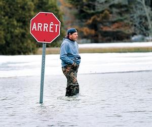 GEN-La crue des eaux printaniére à Rigaud