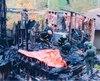 En octobre 1994, un chalet appartenant au gourou de l'OTS brûlait avec cinq personnes à l'intérieur.