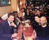 Philippe-Audrey Larrue-St-Jacques (à gauche) a rencontré les comédiens de la version française de Like-moi.