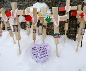 La fusillade dans l'école de Sandy Hook à Newtown, au Connecticut, a fait 26 personnes, dont 20 enfants du primaire.