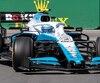 Nicholas Latifi a pris le volant d'une Williams durant les essais libres présentés lors du Grand Prix du Canada, en juin.