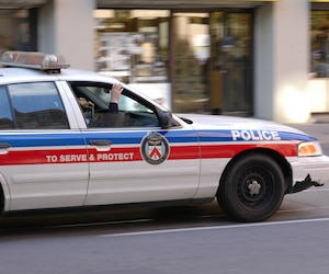 Bloc police de toronto