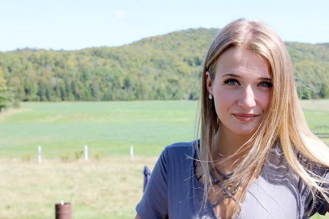 Jolianne Larivière, 17 ans