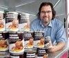 Mario Michaud, président de Pâtisserie Michaud, a le vent en poupe grâce notamment à de nouveaux produits comme le pouding chômeur en canne.