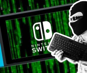 On a demandé à notre collègue Christine de faire un montage pour illustrer cet article. La consigne: «Un pirate sur fond de Switch». Nous ne sommes pas déçus! #hacktheplanet