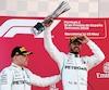 Lewis Hamilton a remporté le Grand Prix d'Espagne devant son coéquipier Valtteri Bottas, dimanche à Montmelo.
