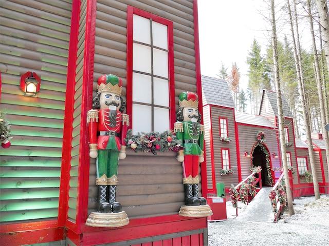 Le village de Noël à Scott