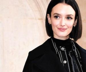 L'actrice et réalisatrice Charlotte Le Bon photographiée lors de la Semaine de la mode à Paris, en janvier dernier.