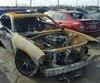 Dodge Challenger Hellcat calcinée