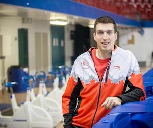 Alex Boisvert-Lacroix (photo) et Laurent Dubreuil pourront exploiter leur vitesse sur la glace rapide de Calgary, en fin de semaine.