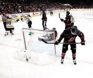 Les Hurricanes ont toute une commande sur les bras: remporter quatre victoires d'affilée contre les Bruins.