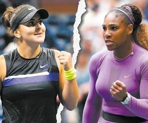 Bianca Andreescu et Serena Williams seront face à face en grande finale sur le terrain du Stade Arthur-Ashe à New York en fin d'après-midi samedi.