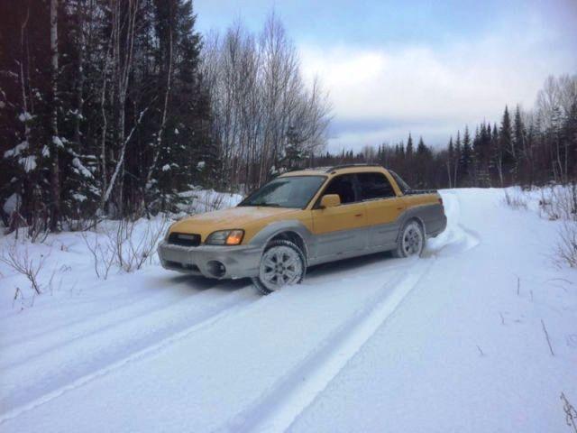 Qui s'en rappelle ? Il s'agissait en quelque sorte d'une version pickup de l'Outback. Aujourd'hui, le Subaru Baja se fait rare et sa valeur est relativement élevée. Prenez garde, le moteur de celui-ci n'est pas celui d'origine.