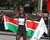 Boniface Kongin a remporté le Marathon de Montréal.