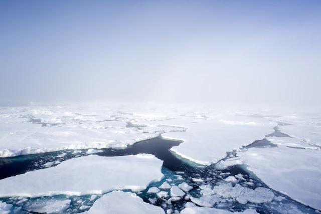 Le désert polaire glacial et ses kilomètres d'épaisseur de glace offrent un spectacle à couper le souffle.