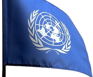 Drapeau Nations Unies