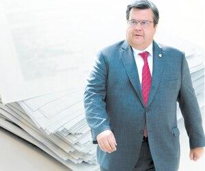 L'ex-maire de Montréal Denis Coderre.