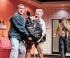 Martin Drainville, Benoît Brière et Luc Guérin s'amusent ferme dans la comédie estivale Pierre, Jean, Jacques présentée au Théâtre du Vieux-Terrebonne.