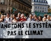 Manifestation pour l'environnement à Paris le 13 octobre dernier.