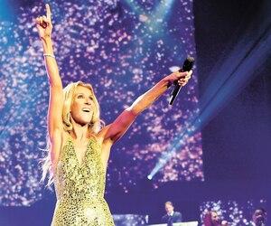 Dernier spectacle Céline Dion