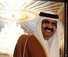 Hamad ben Khalifa Al Thani, Émir (roi) du Qatar. Un faux communiqué a été faussement publié en son nom par des pirates.