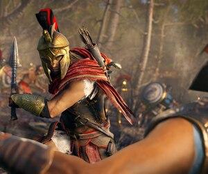 Le jeu se déroule dans la Grèce antique. Des mercenaires spartiates condamnés à mort par leur propre famille permettent aux joueurs d'embarquer pour un voyage où ils passent de parias à héros légendaires.