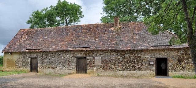 Le musée acadien d'Archigny, dans les environs de Poitiers.