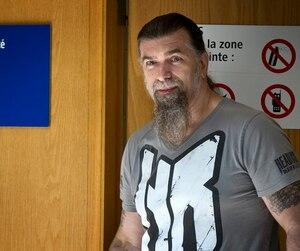 Le motard Salvatore Cazzetta a été arrêté dans le cadre de l'opération policière SharQc en2009.