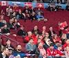 Dans le match de demi-finale entre le Canada et la Suède, il y avait plusieurs sièges inoccupés au Centre Bell.