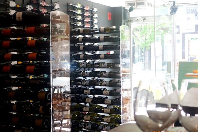 Chez Cul-sec cave et cantine, on a  choisi le vin bio et naturel .